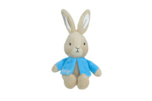 Peter Rabbit Rattle by Beatrix Potter - Sitting