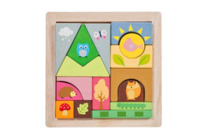 Woodland Blocks Puzzle by Petilou