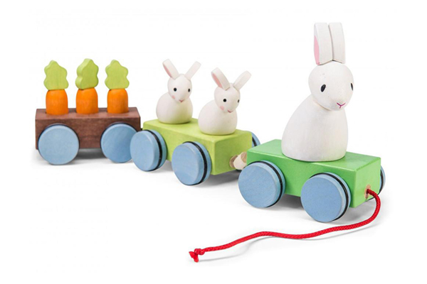 Bunny Train by Petilou