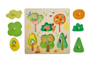 Woodland Tree Puzzle by Petilou