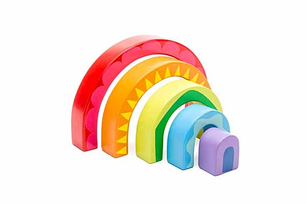 Rainbow Tunnel Blocks