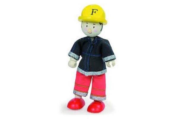 Red Firefighter Budkin