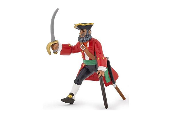 Red Wooden Leg Captain