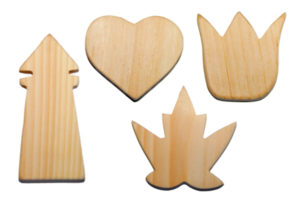 East Coast Canada Collection: lighthouse - heart - maple leaf - tulip