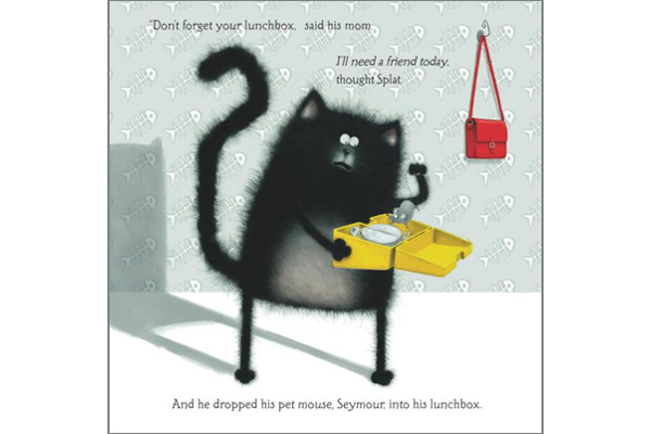seymour chat Splat the cat is a 2008 children's picture book by rob scotton plot splat is so scared of his first day of cat school that his tail moves with worry he needs a friend so he takes his pet, a mouse named seymour, with him to school.
