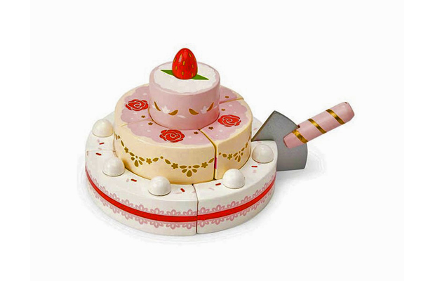 STRAWBERRY WEDDING CAKE by LE TOY VAN