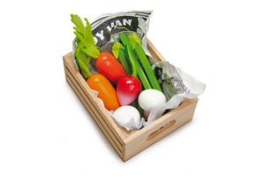 Harvest Vegetables in a Crate