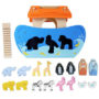 Noah's Ark Shape Sorter by Le Toy Van 3