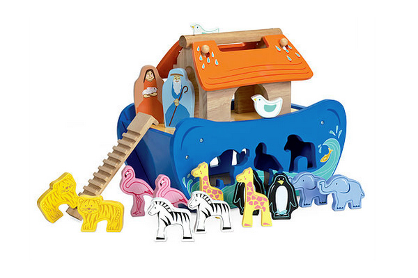 Noah's Ark Shape Sorter by Le Toy Van