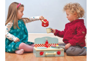 Camper Mini Stove Play Set with Children