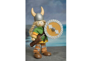 VIKING BUDKIN WITH SWORD & SHIELD