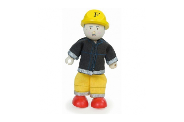 Yellow Firefighter Budkin